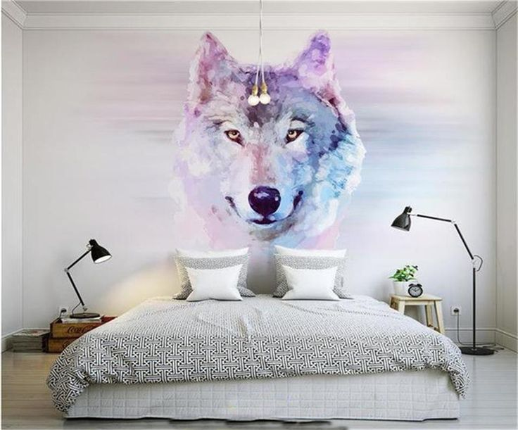 US $15.6 46% OFF|3d wallpaper photo custom size mural clever animal wolf picture living room decor painting TV background wallpaper for walls 3d-in Wallpapers from Home Improvement on Aliexpress.com | Alibaba Group