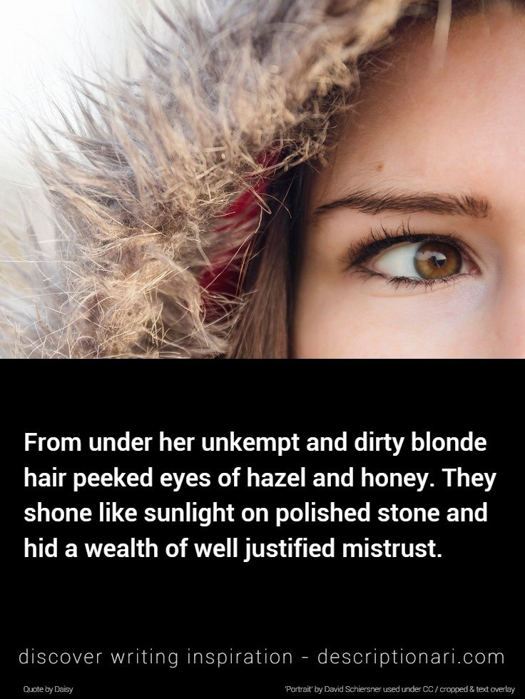 Hazel Eyes Quotes And Descriptions To Inspire Creative Writing