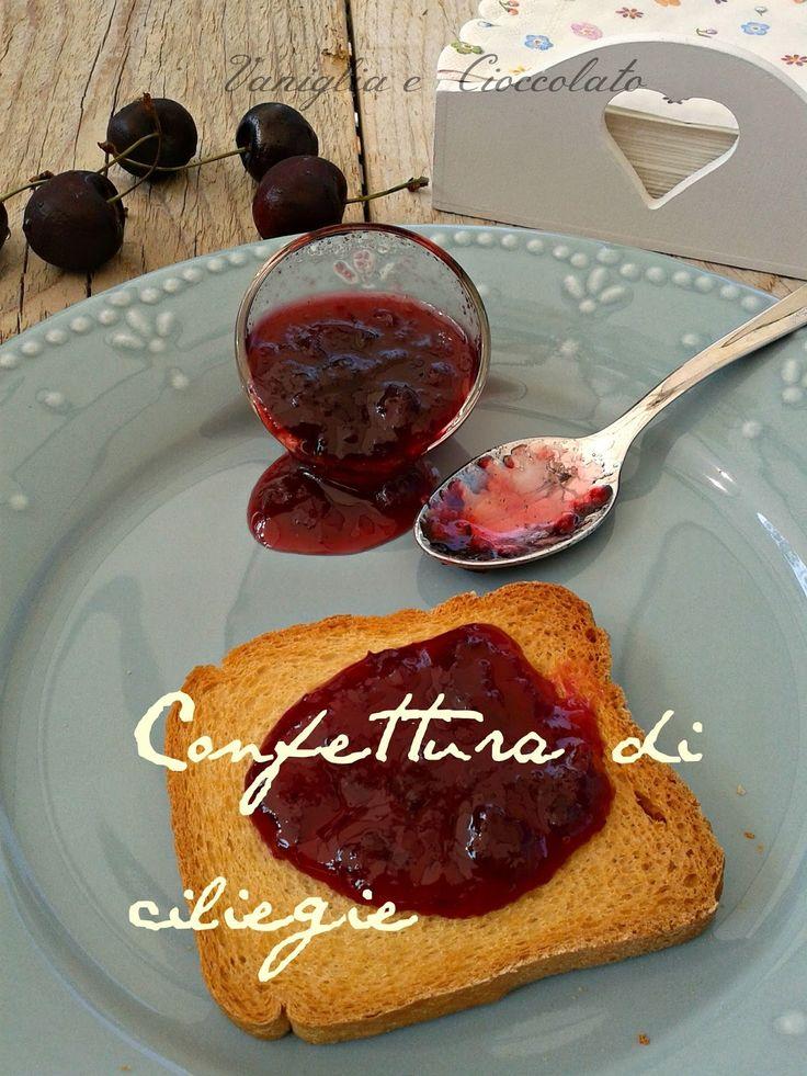 vaniglia e cioccolato: Confettura di ciliegie metodo Ferber