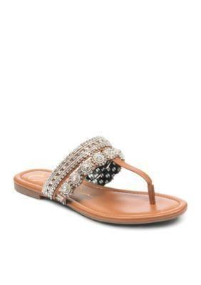 Just bough these. Love the silver and brown. Goes with anything. Jessica Simpson Sandal