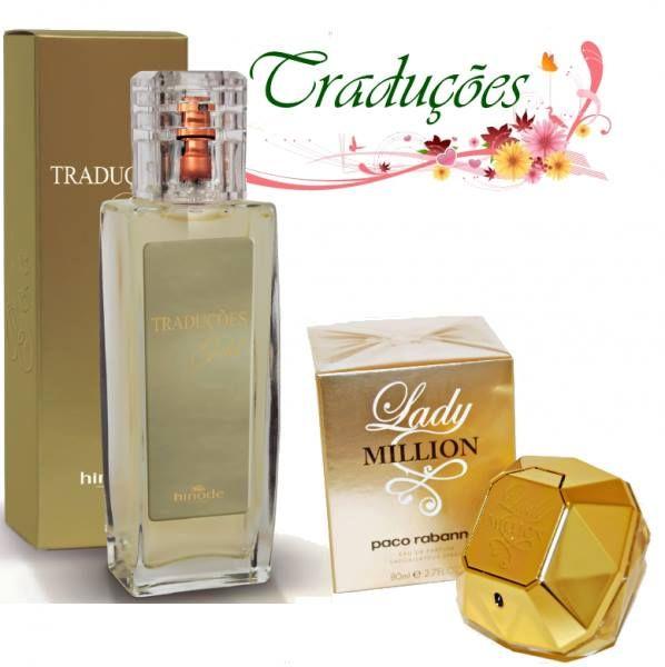 HINODE - Essência Original TRADUÇÕES GOLD Nº 14 - As fragrâncias mais famosas do mundo traduzidas com o maior tempo de fixação. Tem 23% de concentração aprovado pela Anvisa. TRADUÇÕES GOLD FEMININO - 100 ml