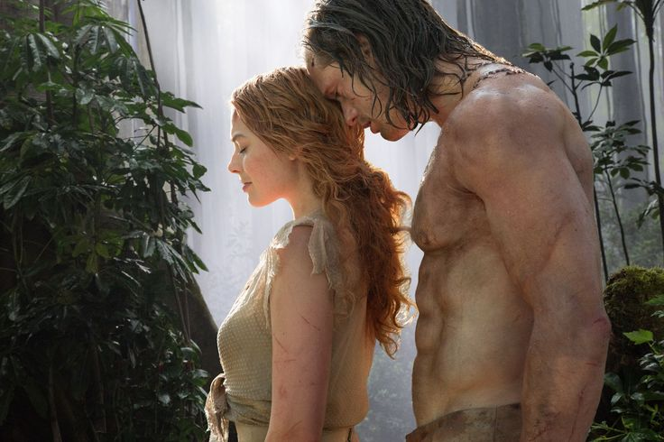 """""""The Legend Of Tarzan"""" review by The Verge 2017-06-29: one of a dozen latest """"'brand deposit' live-action version of an existing Disney movie...chameleonic shifts between tragic historical drama, appealingly trashy jungle-smut, and Saturday-morning kids' show"""" •  film opens in 1884, with Belgium's King Leopold II taking control of the African Congo  • Tarzan = Djimon Hounsou + Jane = Margot Robbie"""