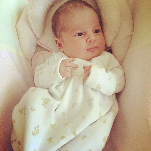 Bundle of Joy from Vivianne Rose Decker's Cutest Pics  Look at the precious beauty all wrapped up!