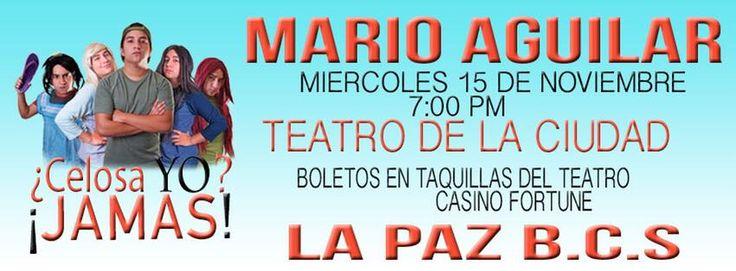 Show de comedia ¿Celosa yo? ¡Jamás!, 15-nov, Teatro de la Ciudad, La Paz