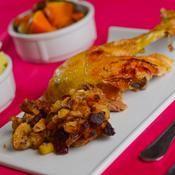 Recette de thanksgiving : Farce aux pommes, cranberry et noix de pécan