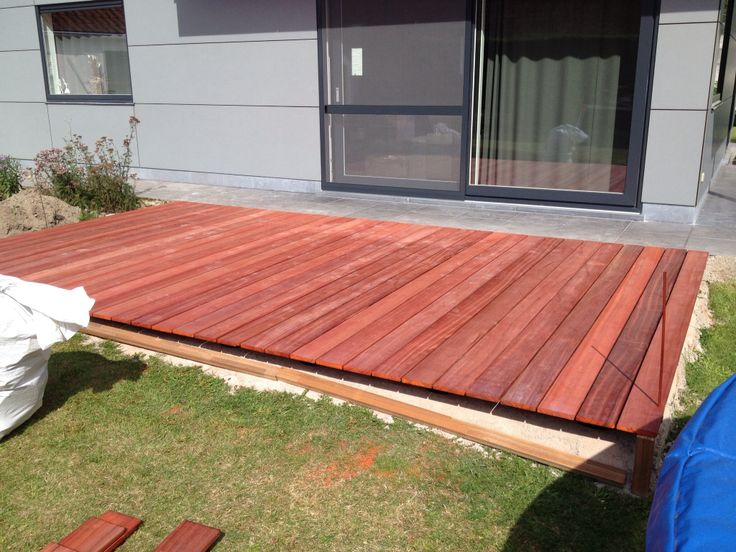 Padouk terras by proworks houten terras pinterest - Terras hout ...