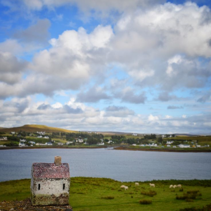 Little Ceramic House on Isle of Skye