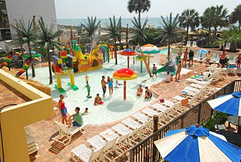 Sea Crest Oceanfront Resorts | Myrtle Beach Hotels and Resorts--Jaxon loved this pool with all the water features!