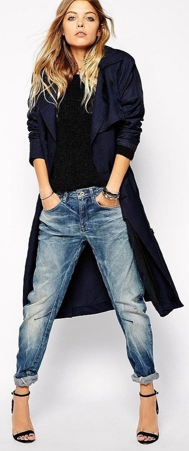 Spring Duster Coat | G-Star Relaxed Trench Coat ($436)