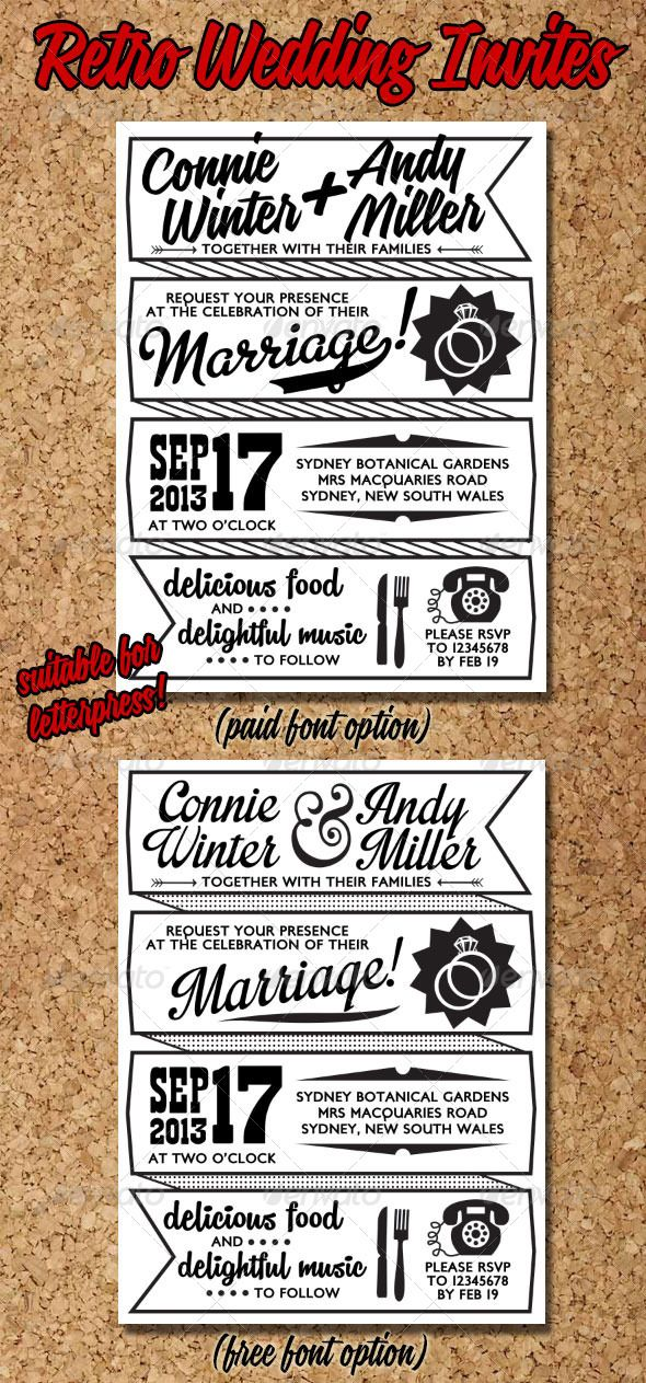 71 best Invites images on Pinterest Weddings, Invitations and - best of invitation wording lunch to follow