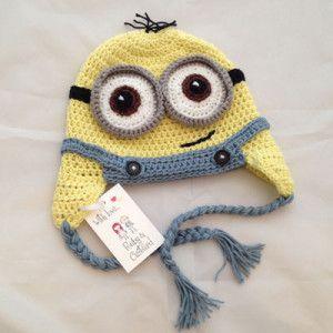 handmade-crochet-minion-hat-uk