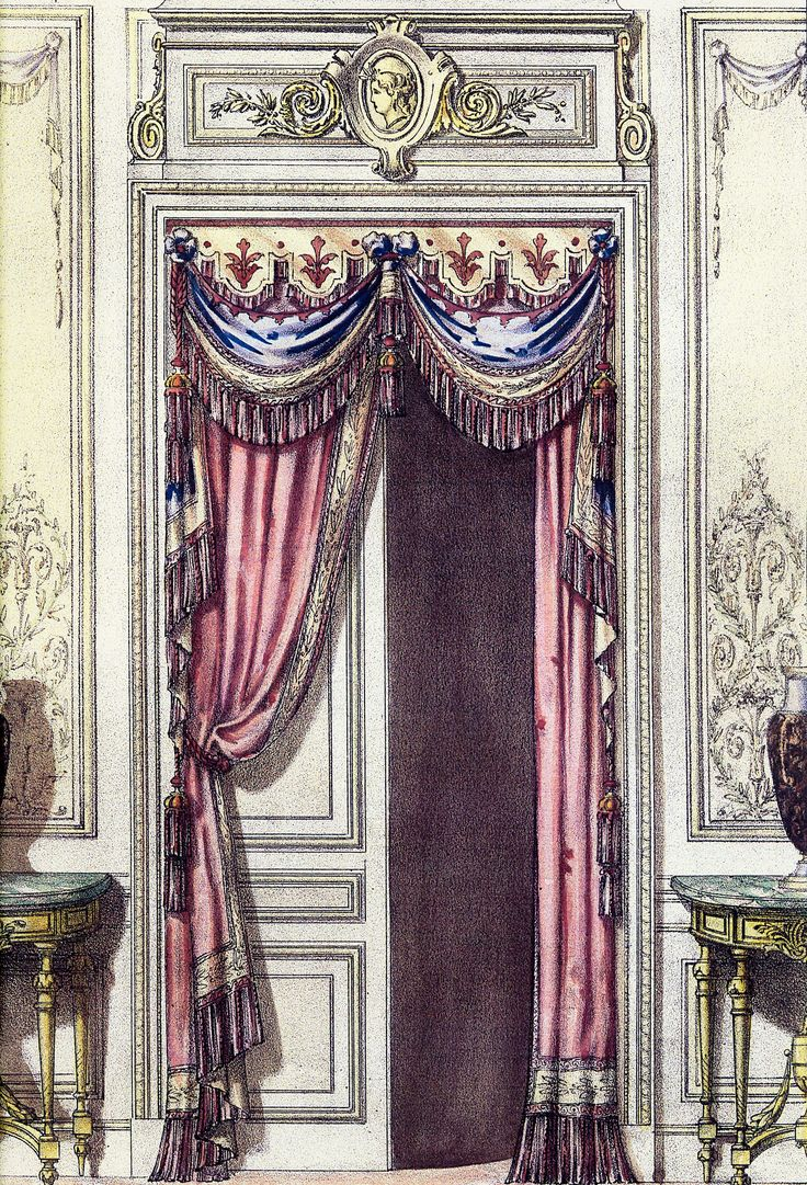 Victorian velvet curtains - Curtains From My Favorite Book Of Curtains