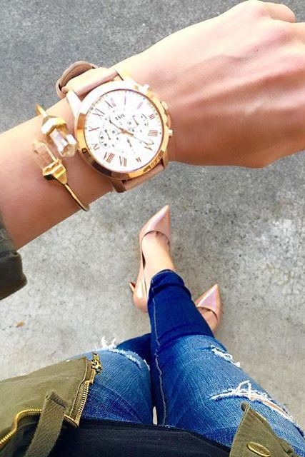 Activity tracker meets style with Q Dreamer. | Fossil Q ...