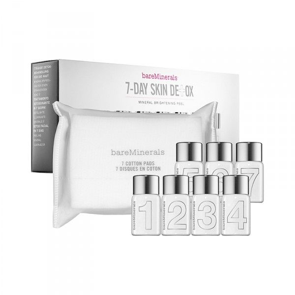 Skincare Regimen And on the 7th day, your skin is healthy, looks brighter and feels softer thanks to kombucha black tea and other powerful ingredients in this week-long skincare routine. 7-Day Skin Detox Mineral Brightening Peel, bare minerals $75 Detox Tips: 6 Genius Products That Actually Work | The Zoe Report