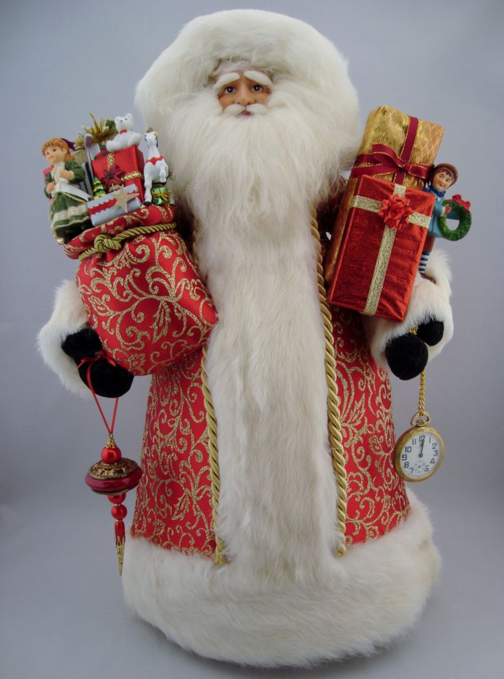 "Elegant Santa - Santa Claus Doll- 22"" Tall - pinned by pin4etsy.com"