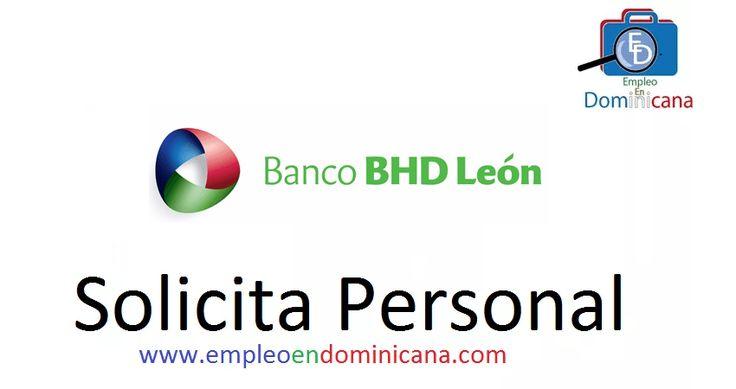 Ofertas de Trabajo y Empleo en Banco BHD León