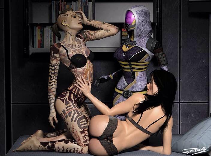 Tali Jack Miranda   Mass Effect   Mass effect miranda ...