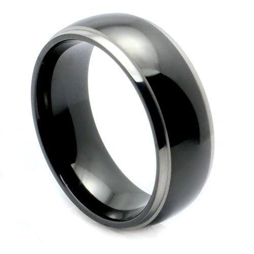 "Titanium Wedding Band, "" FREE ENGRAVING "" , Titanium engagement ring, Titanium Men's Ring, Ring For men, MMWRT9218"