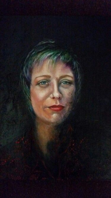 Charisse -oil on stretched canvas