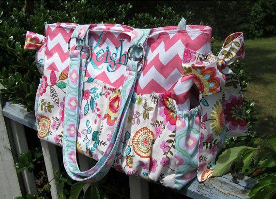 Custom Diaper Bag XL Deluxe Handmade by WhistleBritchesBoutq