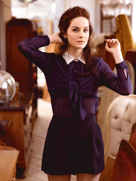 Michelle Dockery - Lady Mary Crawley of Downton Abbey