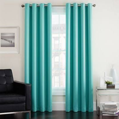 aqua curtains - Google Search                                                                                                                                                                                 More