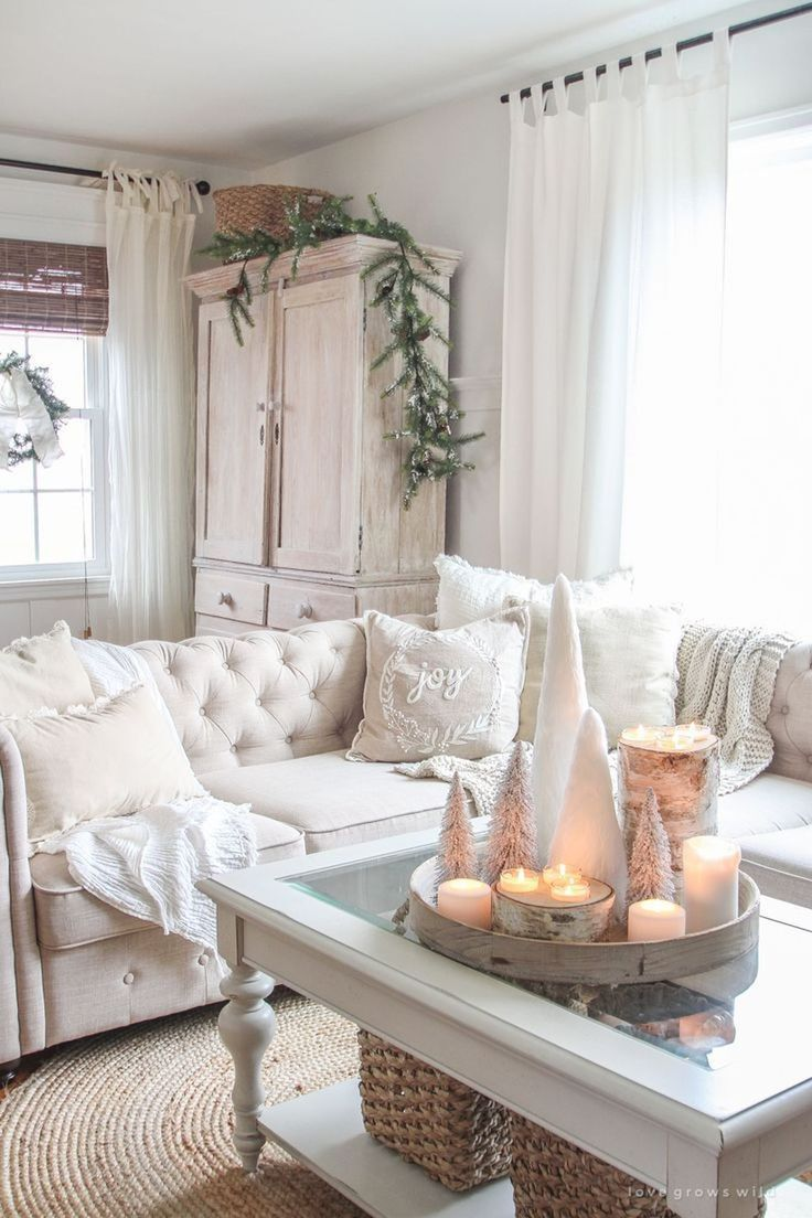 34 awesome cozy winter living room decor ideas  winter