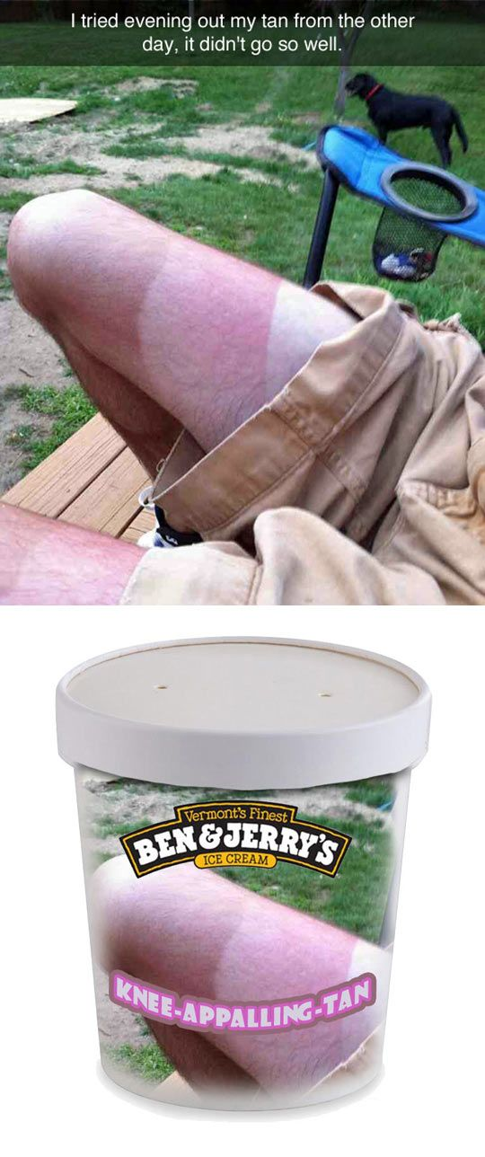 Knee Appalling Tan Flavor