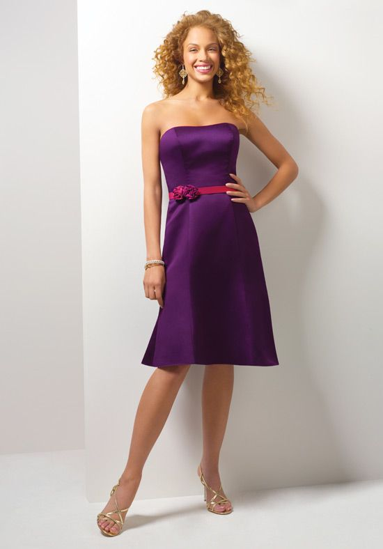 Bridesmaid dress number 2.   Take off the pink belt and we have a deal.