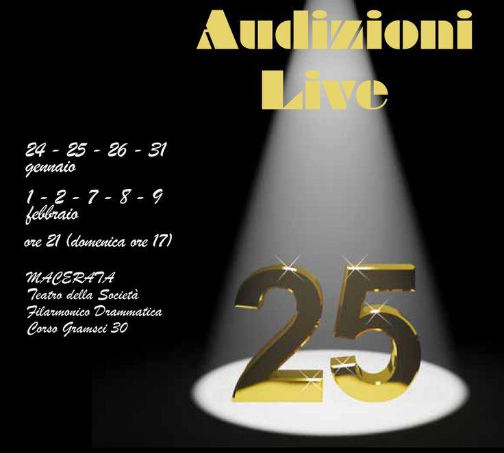 Audizioni live della XXV edizione di Musicultura