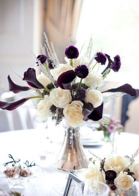 37 Art Deco Wedding Centerpieces That Inspire | HappyWedd.com