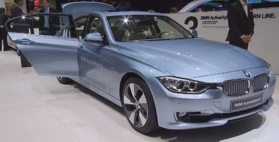ActiveHybrid 3 from BMW. • Nice Cars