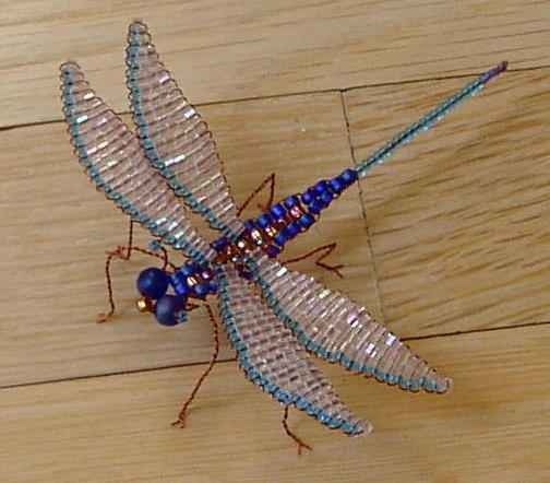 "BEADED INSECT BOOK ""Bead N' Bugs"": Blue Dragonfly, Beads Bugs, De Mostacilla, Insects Books, Beads Insects, Beads Butterflies, Google Search, Books Beads, Beads Dragonfly"