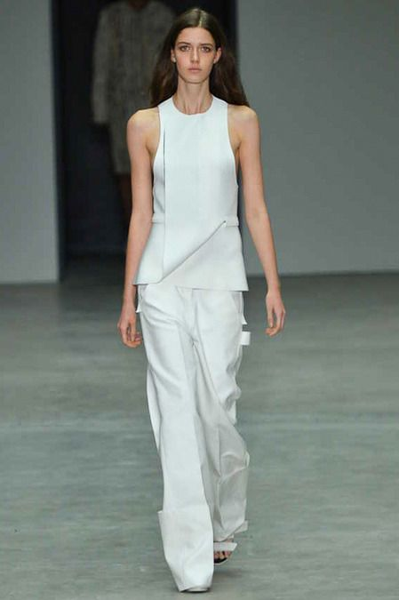 Calvin Klein Collection Spring 2014 Ready-to-Wear Collection Slideshow on Style.com