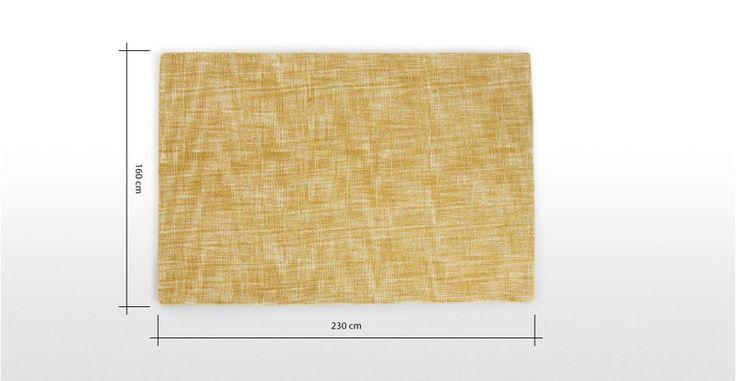 Sketch, tapis 160 x 230 cm, ocre | made.com