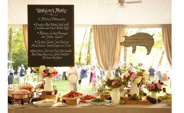 buffet mariage