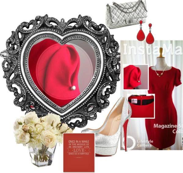Perfect #Little #Red #Dress #Classic & #Feminine www.anyblackdress.com    Euro 315