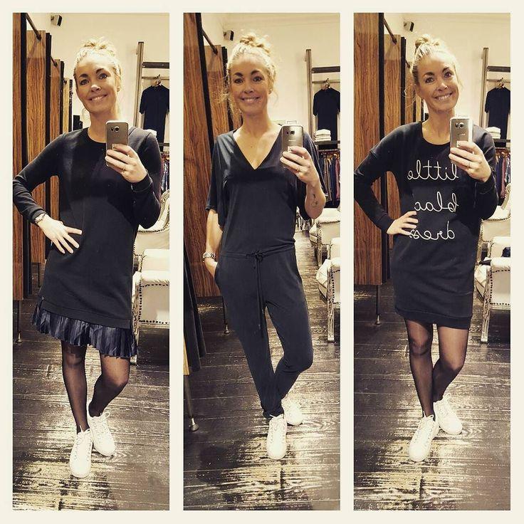 Comfy kerst outfit of ga jij op chique? #littleblackdress #catwalkjunkie #plissesweatdress #maisonscotsch #jumpsuit #mbym #SALE