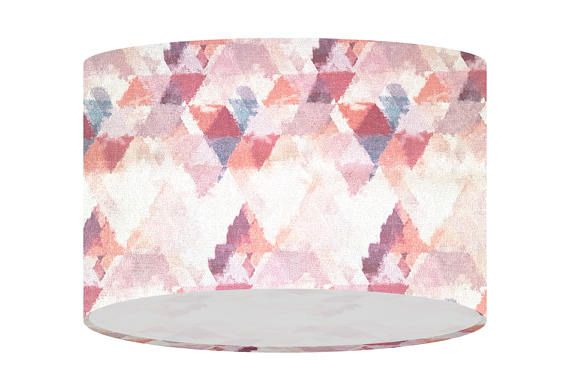 Check out this item in my Etsy shop https://www.etsy.com/uk/listing/518429040/lampshade-handmade-in-pink-triangles
