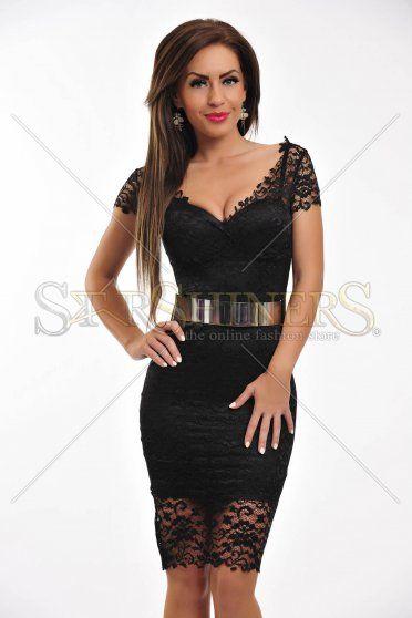 Rochie Mexton Exquisite Look Black