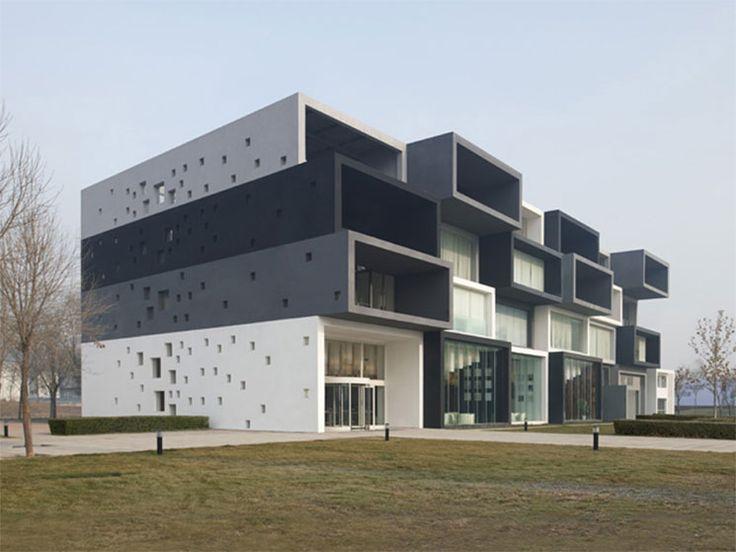 Pixel Modelhouse in Beijing by SAKO Architects