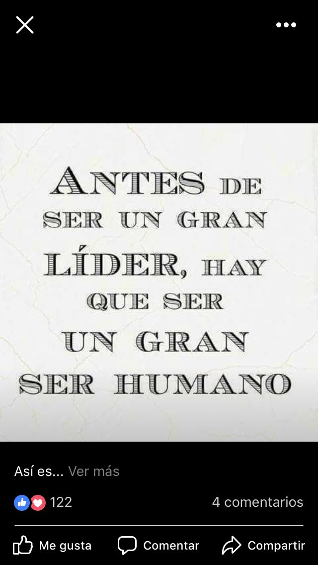 Se un gran ser humano