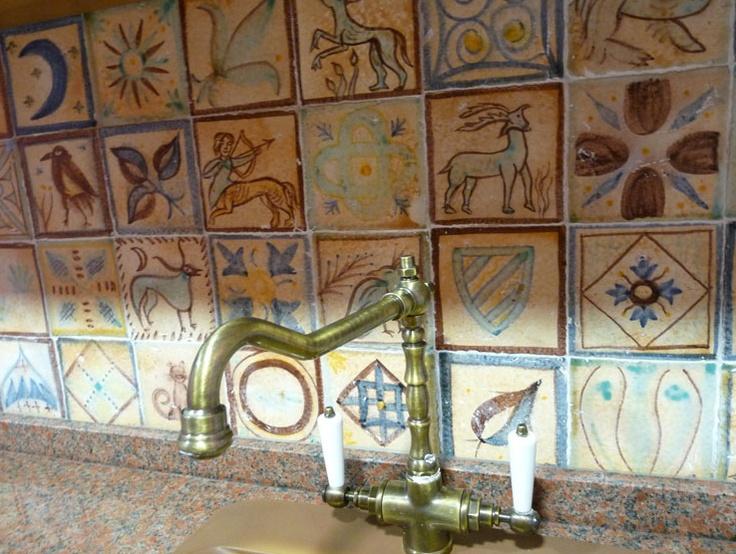 Mejores 60 im genes de decoraci n con azulejos en - Azulejos con dibujos ...