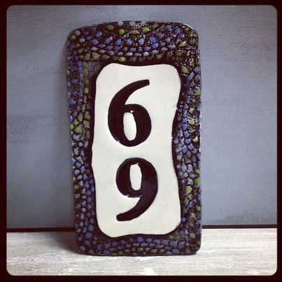 223 best ceramic house number images on Pinterest House numbers