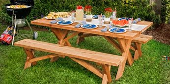 Weekend Project Alert: Build a picnic table with our handy how-to!  Google+