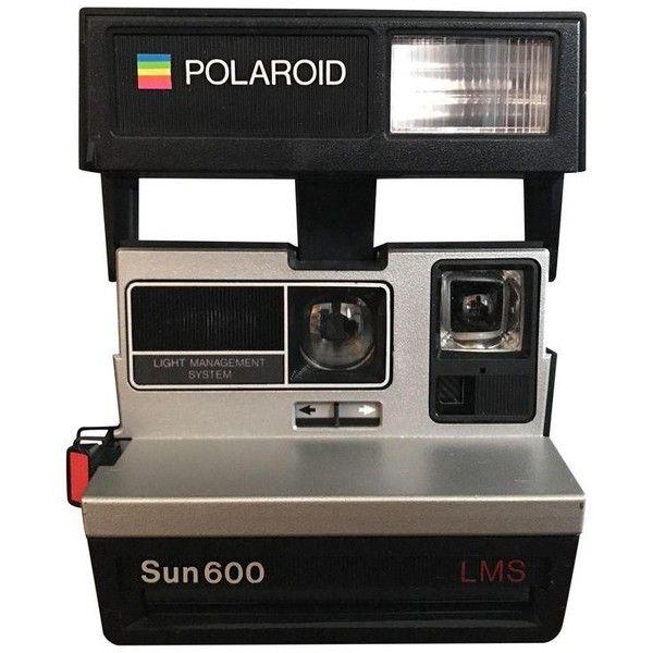 Vintage Polaroid Sun 600 LMS Camera (52 695 LBP) ❤ liked on Polyvore featuring camera
