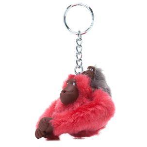 Small Sven & Baby Monkey Keychain - Kipling