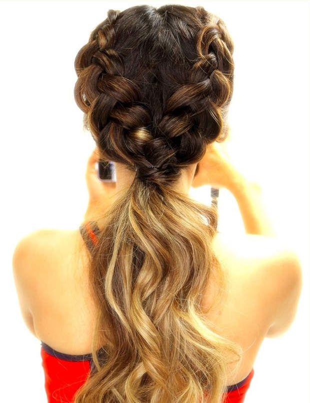 Une ponytail nattée Lelook idéal pour un cours de yoga ou de pilates, vous ne trouvez pas ?