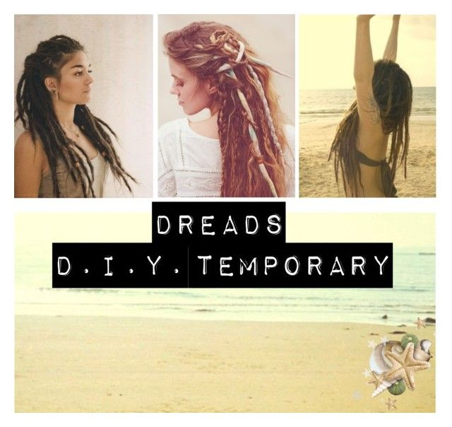 """D.I.Y. Temporary Dreads"" by gypsyprincesses ❤ liked on Polyvore featuring beauty, Free People and Therapy"