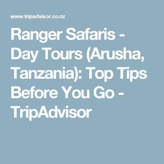 Ranger Safaris - Day Tours (Arusha, Tanzania): Top Tips Before You Go - TripAdvisor